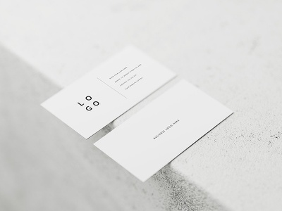 5 White Business Card Mockups white business card logo photoshop business card mockups mockup stationery business card white minimal