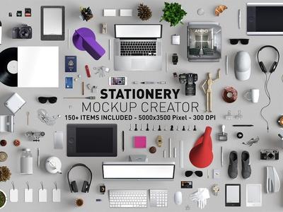 Hero Stationery Mockup Creator