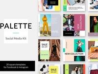 Palette Social Media Kit