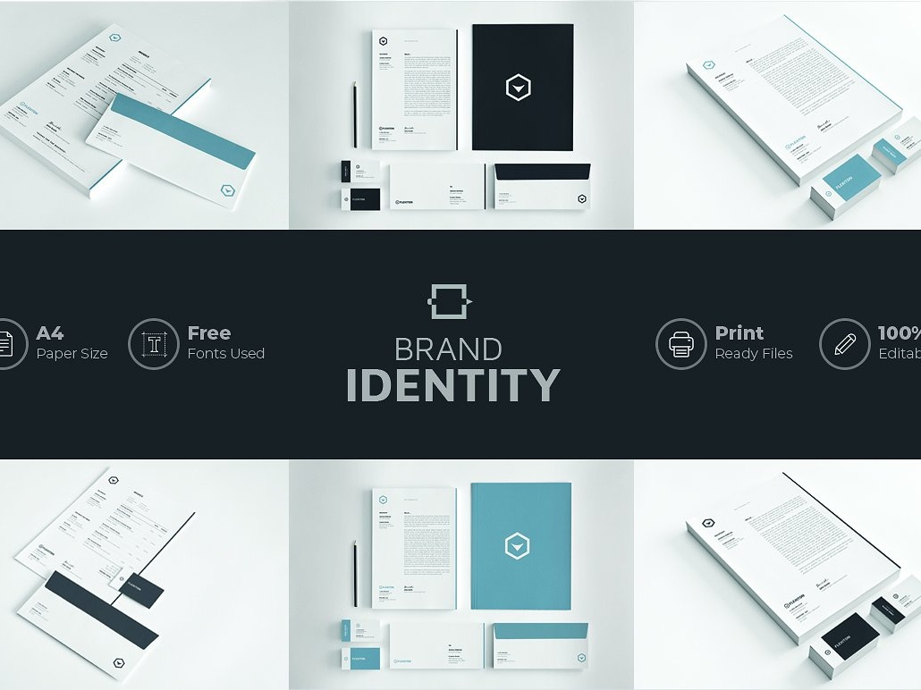 Brand Identity By Social Media Templates Dribbble Dribbble