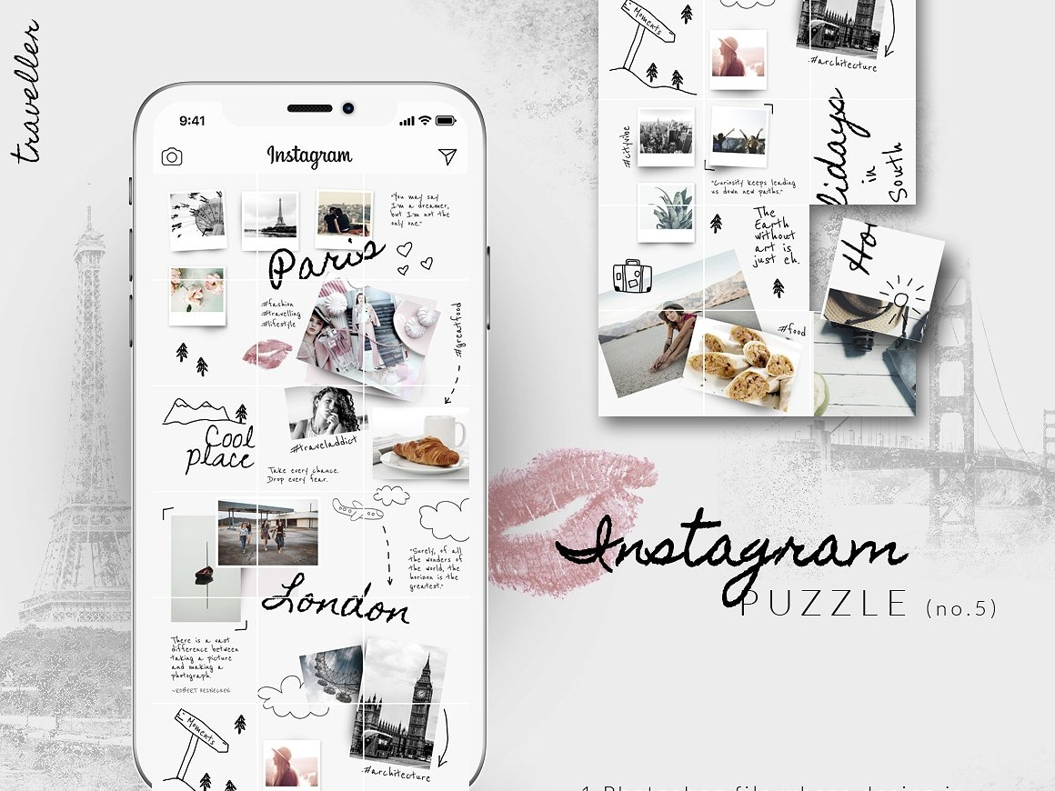Permalink to Instagram Layout Template