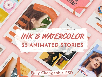 INK & WATERCOLOR animated stories