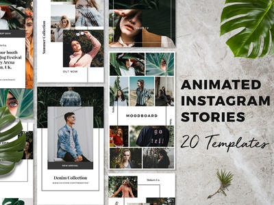 Bromo ‒ Animated Instagram Stories