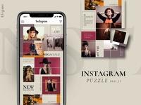 Instagram PUZZLE template - Elegant