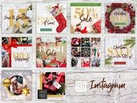 Christmas Holiday Social Media Pack