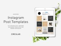NINETEEN / Instagram Post Templates