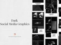 Dark Animated Instagram Stories