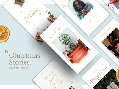 Christmas Stories Social Media Pack