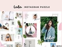 Lala - Instagram puzzle