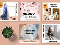 Sunny Social Media Kit