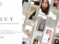 IVY - Minimal Organic Social Kit