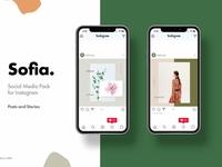 Sofia-Social Media Pack