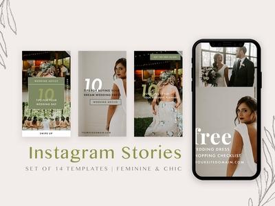 Feminine Instagram Stories Pack
