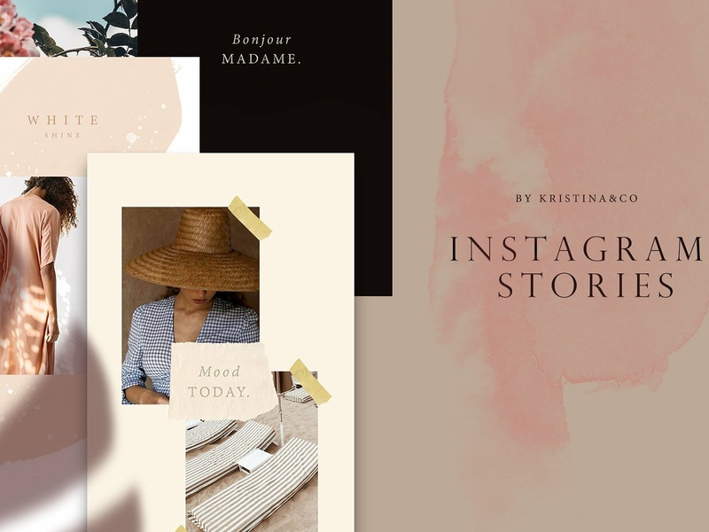 Modern Instagram Stories elegant social media templates stories blogger templates social media template instagram inspiration dark trend mood instagram posts instagram story modern instagram instagram template instagram stories modern stories modern modern instagram stories