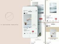 Sloane Instagram Templates