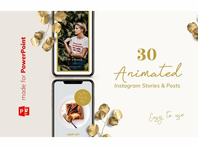 Animated Instagram Pack / PowerPoint