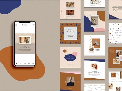Animated Stylish Instagram Posts
