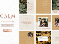 CALM Wellness Social Pack