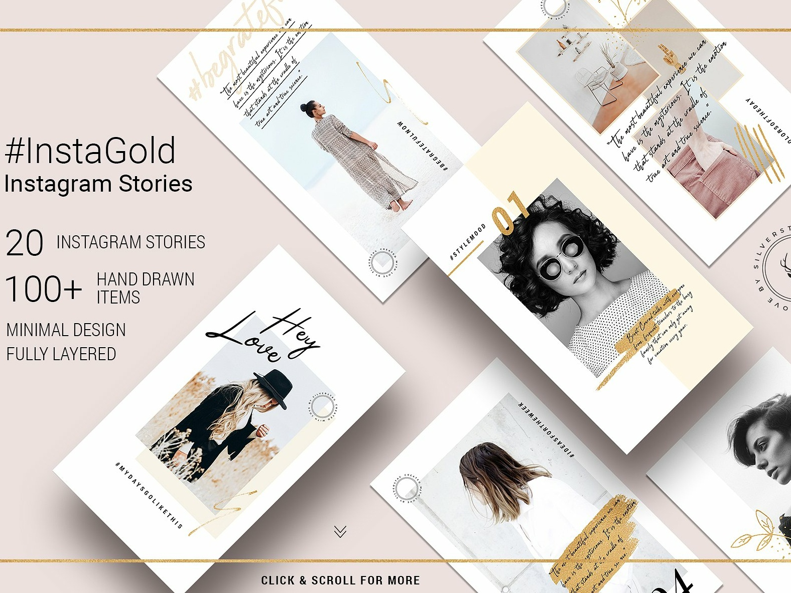 #InstaGold Minimal Instagram Stories stories elegant social media templates blogger branding templates social media template minimal design hand drawn golden gold template insta gold gold instagram posts instagram story instagram minimal instagram stories minimal instagram stories