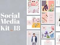 Social Media Kit Vol. 18