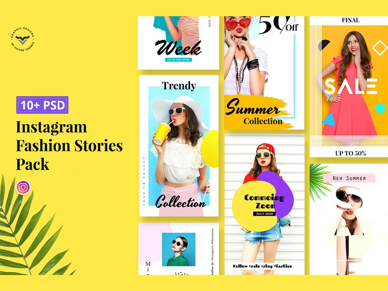 Fashions Stories Designs Themes Templates And Downloadable Graphic Elements On Dribbble