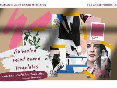 Animated Mood Boards