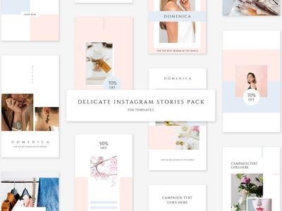 Delicate Instagram Stories Pack