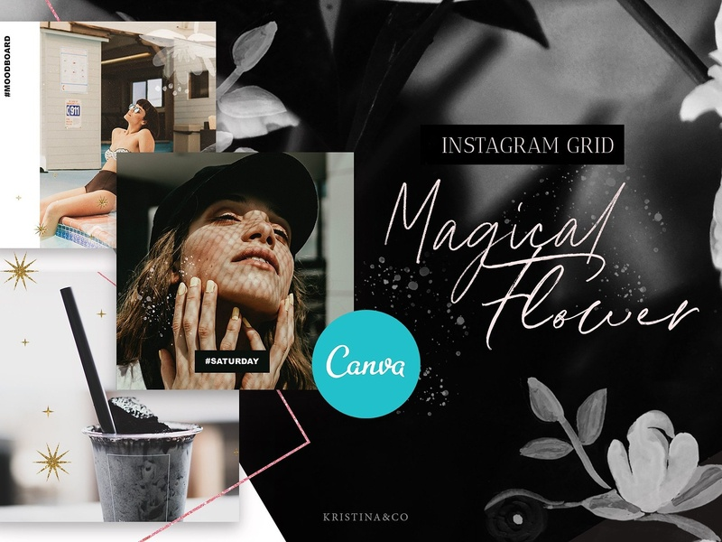 Instagram Stories & Post in Canva by Social Media Templates