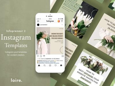 Instagram marketing blogger pack