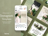 Instagram marketing blogger pack