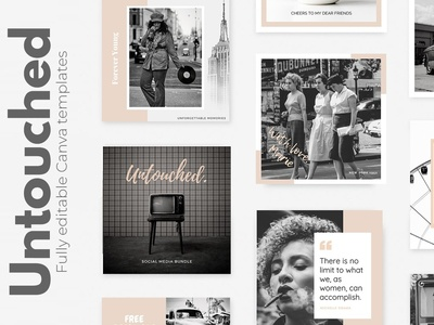 CANVA| Untouched Social Media Pack