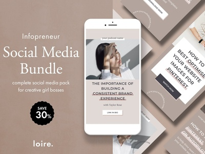 Infopreneur social media bundle