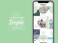 Instagram Puzzle - Tropic