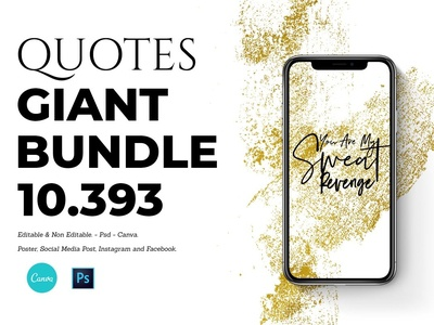 10.393 - QUOTES GIANT BUNDLE