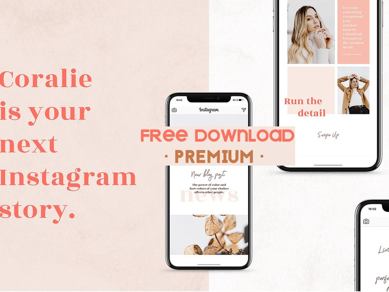 FREE Download - ANIMATED Instagram Stories by Social Media Templates