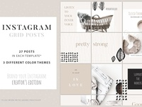 Instagram Grid Posts - Creator