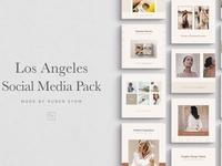 Los Angeles Social Media Pack