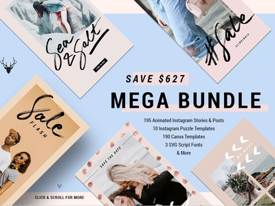 MegaBundle Items from 2018 - 95% OFF