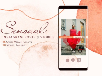 Sensual Inatagram Posts and Stories