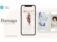 Bumaga - 24 Instagram Templates