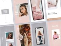 Storea - 24 Instagram Templates