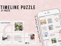 Timeline Instagram Grid