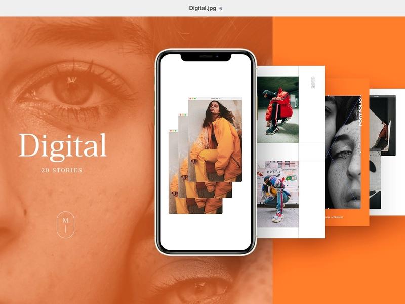 Digital 20 Instagram Stories