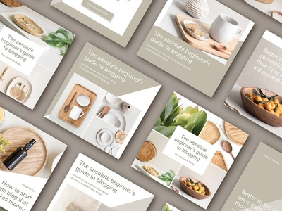 Lifestyle social media pack | CANVA
