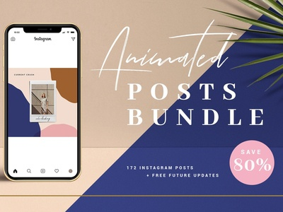 BUNDLE Animated Instagram Posts