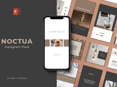 Noctua PowerPoint Instagram Pack