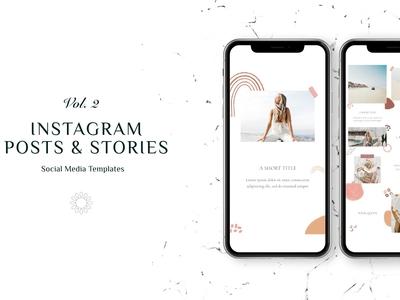 Instagram Posts & Stories Vol.2