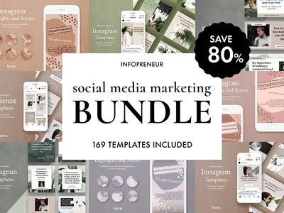 Infopreneur Social Media Bundle Sale