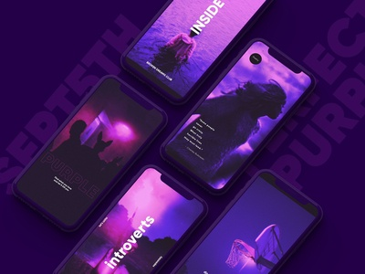 Perfect Purple Social Media Kit