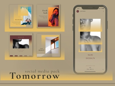 Tomorrow - Social Media Pack